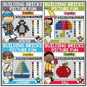 Building Bricks Picture Fun: Seasons Bundle ~Digital Download~