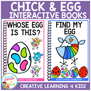 Chick and Egg Interactive Books ~Digital Download~