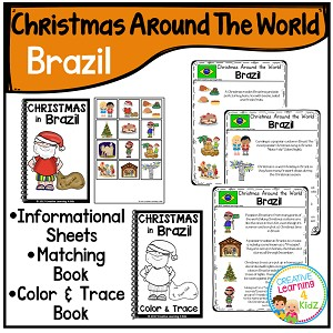 Christmas Around the World Books Set 2: Brazil ~Digital Download~
