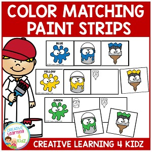 Color Matching Paint Strips ~Digital Download~