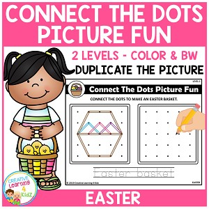 Connect the Dots Picture Fun - Easter ~Digital Download~