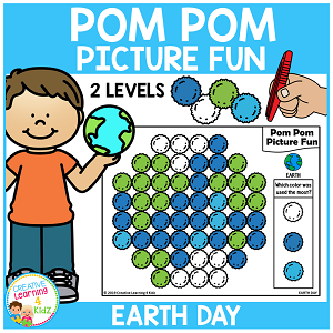 Pom Pom Picture Fun - Earth Day ~Digital Download~