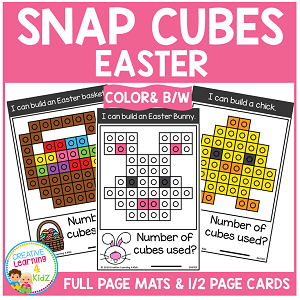 Snap Cubes Activity - Easter ~Digital Download~