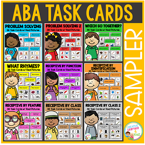 ABA Task Card Sampler Set ~Digital Download~