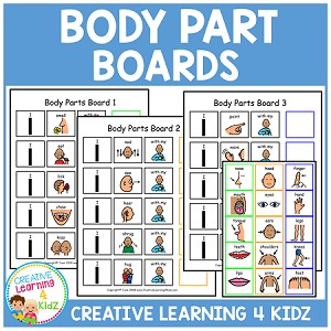 Body Part Boards ~Digital Download~