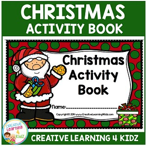 Christmas Activity Book ~Digital Download~