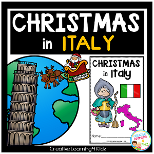 Christmas Around the World:Italy Book ~Digital Download~