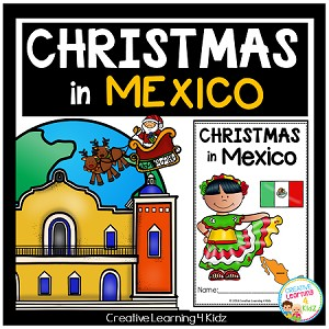 Christmas Around the World: Mexico Book ~Digital Download~