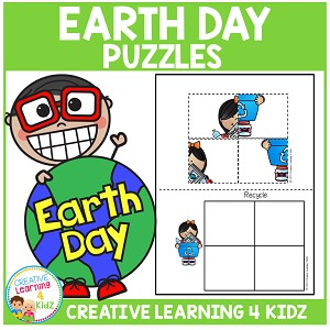 Earth Day Puzzles ~Digital Download~
