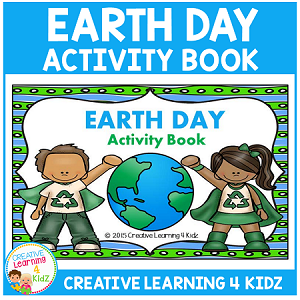 Earth Day Activity Cut & Paste Book ~Digital Download!