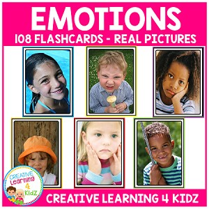 Emotions Real Picture Cards Feelings ~Digital Download~