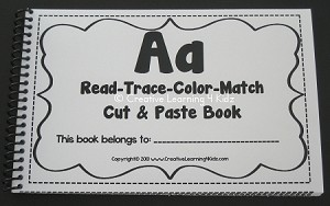 Alphabet A Cut & Paste Activity Book Freebie ~Digital Download~