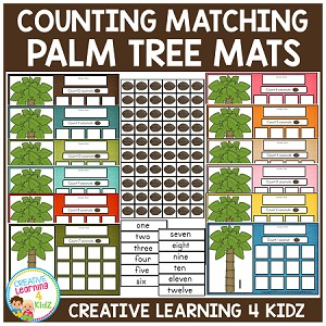 Coconut Counting Boards ~Digital Download~