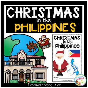 Christmas Around the World:Philippines Book ~Digital Download~