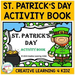 St. Patrick's Day Activity Book ~Digital Download~