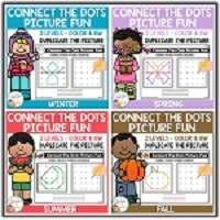 Connect the Dots Picture Fun - Seasons Bundle ~Digital Download~