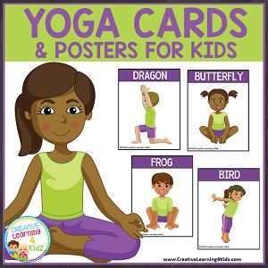 Yoga Cards & Posters for Kids ~Digital Download~